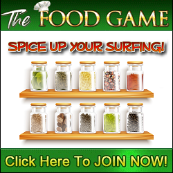 The Food Game banner